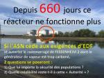 FESSENHEIM 2 A L'ARRET DEPUIS 660 JOURS