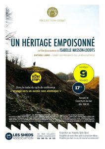 """9 mars aux Sheds - Projection / débat """"un héritage empoisonné"""" @ Aux Sheds"""