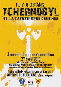 Tchernobyl Day - Colmar @ Départ place de la mairie à Colmar