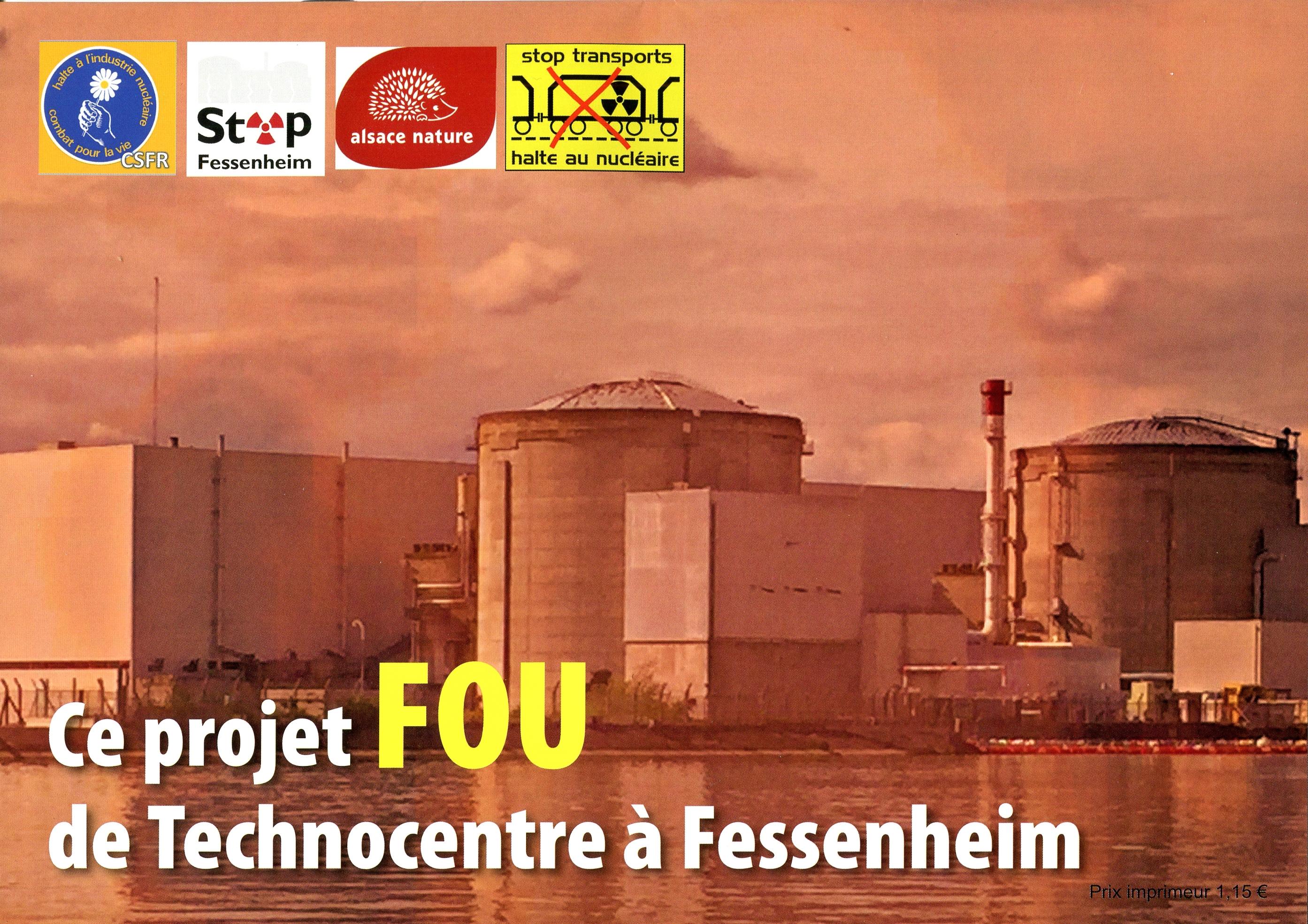 Ce projet FOU de Technocentre à Fessenheim