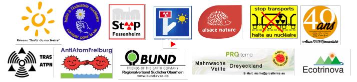 logos de toutes les associations associées à cet événement